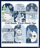 Cold Hands, Warm Hearts Gift Tag Set