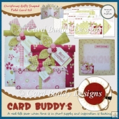 Christmas Gifts Shaped Fold Card Kit