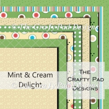 Mint & Cream Delight Paper Pack