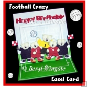 Football Crazy Easel
