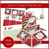 Christmas In Lapland Pop Up Box Card