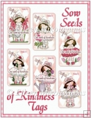 Sow Seeds of Kindness Tag Set
