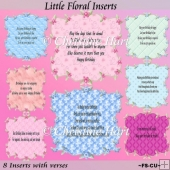 Little Floral Inserts