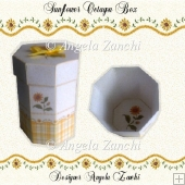 SUNFLOWER OCTAGONAL GIFT BOX
