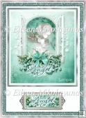 Snow Angel Christmas Card Topper