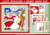 Lazy Rudolph 4 Sheet Mini Kit
