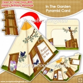 In The Garden Pyramid Card