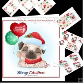 Christmas Pug Mini Kit 1