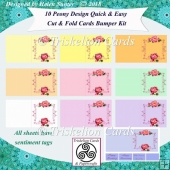 Peony Quick & Easy Cut & Fold Cards Bumper Kit