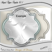 Shaped Topper Template #11