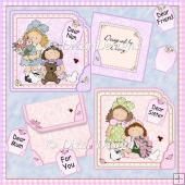 Bouquets For You - 2 Card Kit