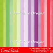 Easter Delights Colors Digital Cardstock A4 Papers Backgrounds