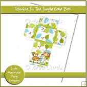 Rumble In The Jungle Cake Box