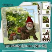Gardening Gnome Birthday Mini Kit