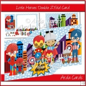 Little Heroes Z Fold Card