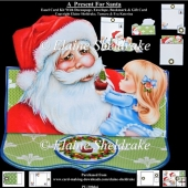 A Present For Santa Easel Card Kit