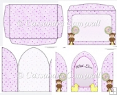 Church Door Baby Bear Card