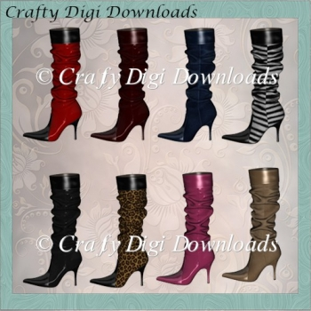 8 Slouch Boots