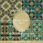 Printable Paper Bead Sheet Set 5