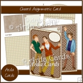 Cheers! Asymmetric Card