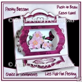 Pretty Blossoms - Push To Beau Easel Card