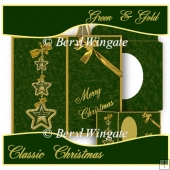 Green & Gold Classic Christmas