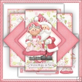 MrandMrsClaus Triangle Pop Up Card