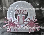 New Year Firework Card TF0339, SVGl,Cameo,Cricut,ScanNCut