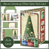 Almost Christmas Offset Gate Fold Card