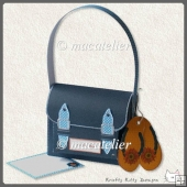 Mini Satchel Gift Box: Denim