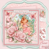 Relax with a Good Book 8x8 Decoupage Kit