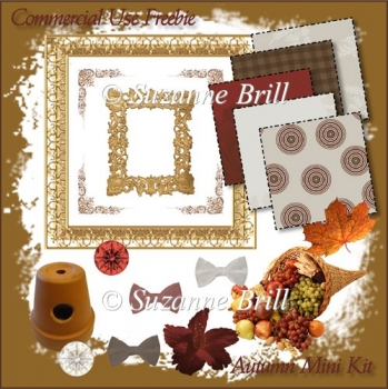 Mini Autumn Scrapbooking Kit