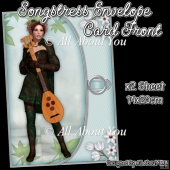 Songstress Envelope Card Front