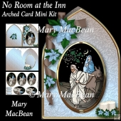 No Room at the Inn - Arched Card Mini Kit
