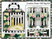 London Home Handled Gift Bag Kit