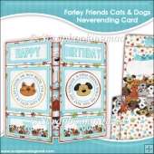 Farley Friends Cats Dogs Neverending Card