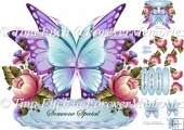 Butterfly Layered Card 2