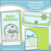 Snowbuddies Money Card & Envelope