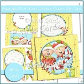 Have YourElf A Merry Christmas Shadow Box Card