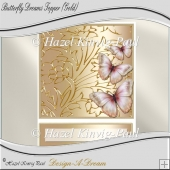 Butterfly Dreams Topper (Gold)