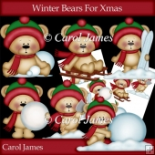 Winter Bears For Xmas