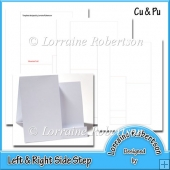 Left & Right Step Card Templates ~ CU & PU