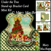 Under the Tree - Stand-up Bracket Card Mini Kit