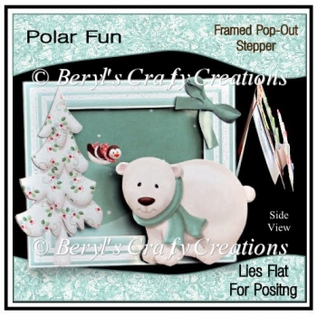 Polar Fun Framed Pop-Out Stepper