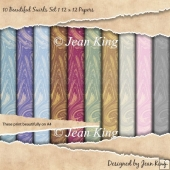 Beautiful Swirls Set 1 12 x 12 Papers