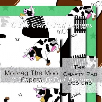 MooRag Cow Backing Papers