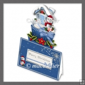 Slot Top Snowman Cupcake Mini Kit