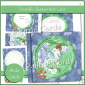 Dinoriffic Shadow Box Card