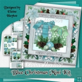 Blue Christmas Mini Kit