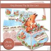 Foxy Business Pop Up Box Card